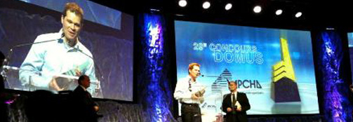 Écohabitations Boréales gagnant au concours Domus 2011 !