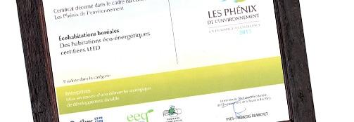 Concours Phénix de l'environnement du Québec