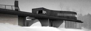 Projet L'héronnière par Alain Carle Architecte
