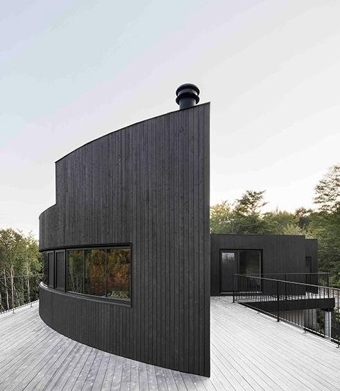 Projet La Héronnière - Ecohabitations Boréales - Construction de maison écologique LEED au Québec