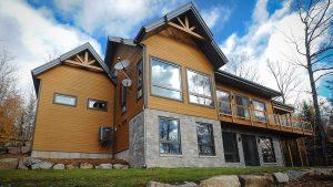 Solaire passif - Maison LEED Platine à Val Morin