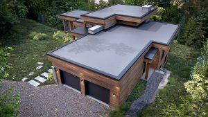 Construction de maison écologique LEED à Morin height dans le