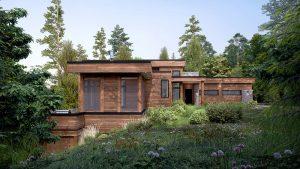 Construction de maison écologique LEED à Morin-Height dans le