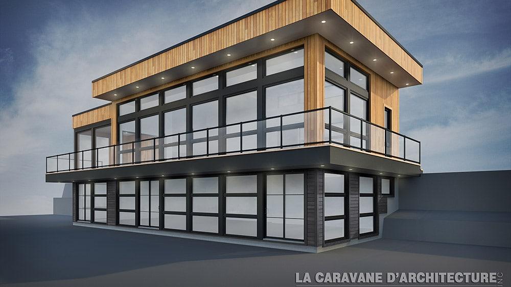 Lanthier maison moderne