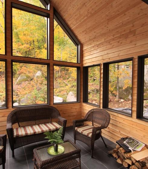 Projet maison du Lac Louise - Écohabitations Boréales